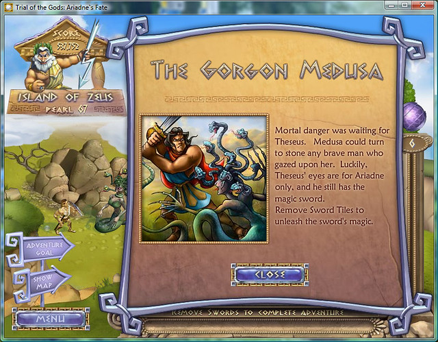 story 4-11 the gorgon medusa