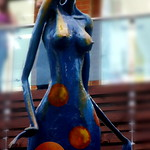 Sculpture of Woman by Caleño Artist