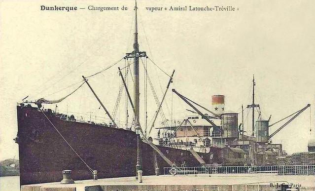 Dunkerque - Chargement du vapeur