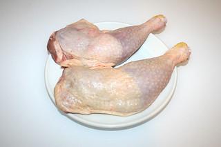 07 - Zutat Hähnchenschenkel / Ingredient chicken legs