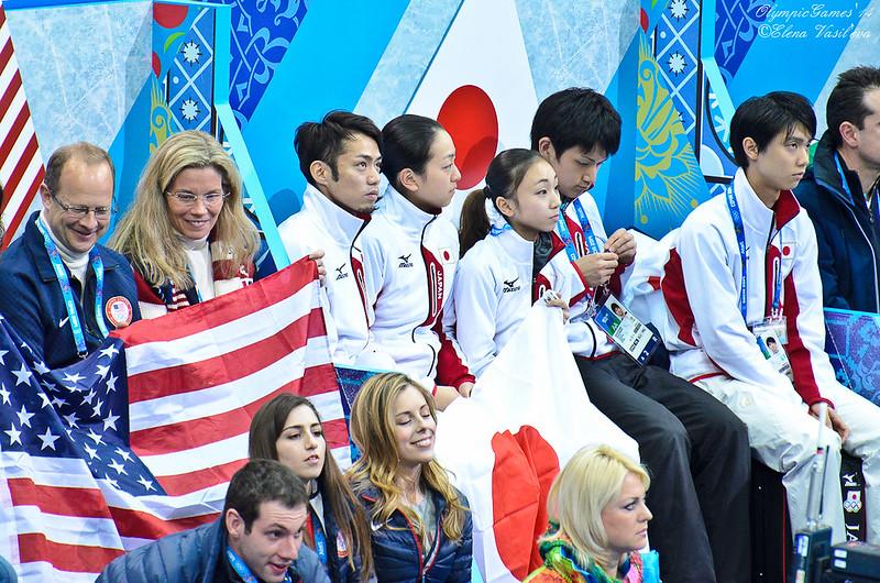 Team USA,Team Japan