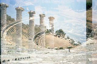 Epheseus Priene Double Exposure Summer 1980