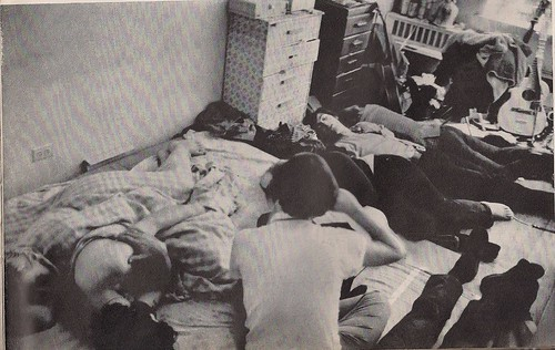 11/03/67 Life Magazine - East Village Hippie Crash Pad, NYC