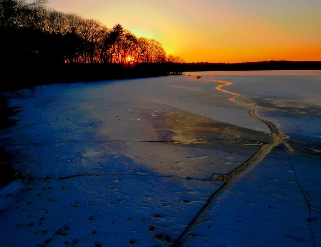 Fresh Pond Sunset