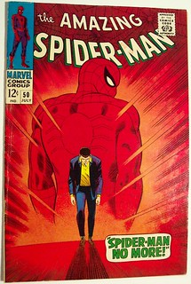 Vintage Comic Book - Amazing Spider-man #50