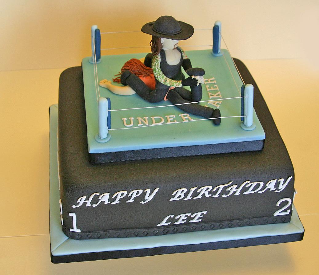 Birthday Cake 107 Wwe Wrestling The Undertaker A Photo On