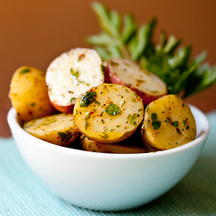 Potato Salad with Herbed Dijon Vinaigrette
