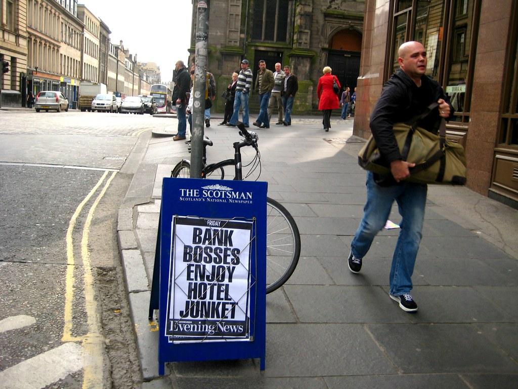 Bank Bosses Enjoy Hotel Junket