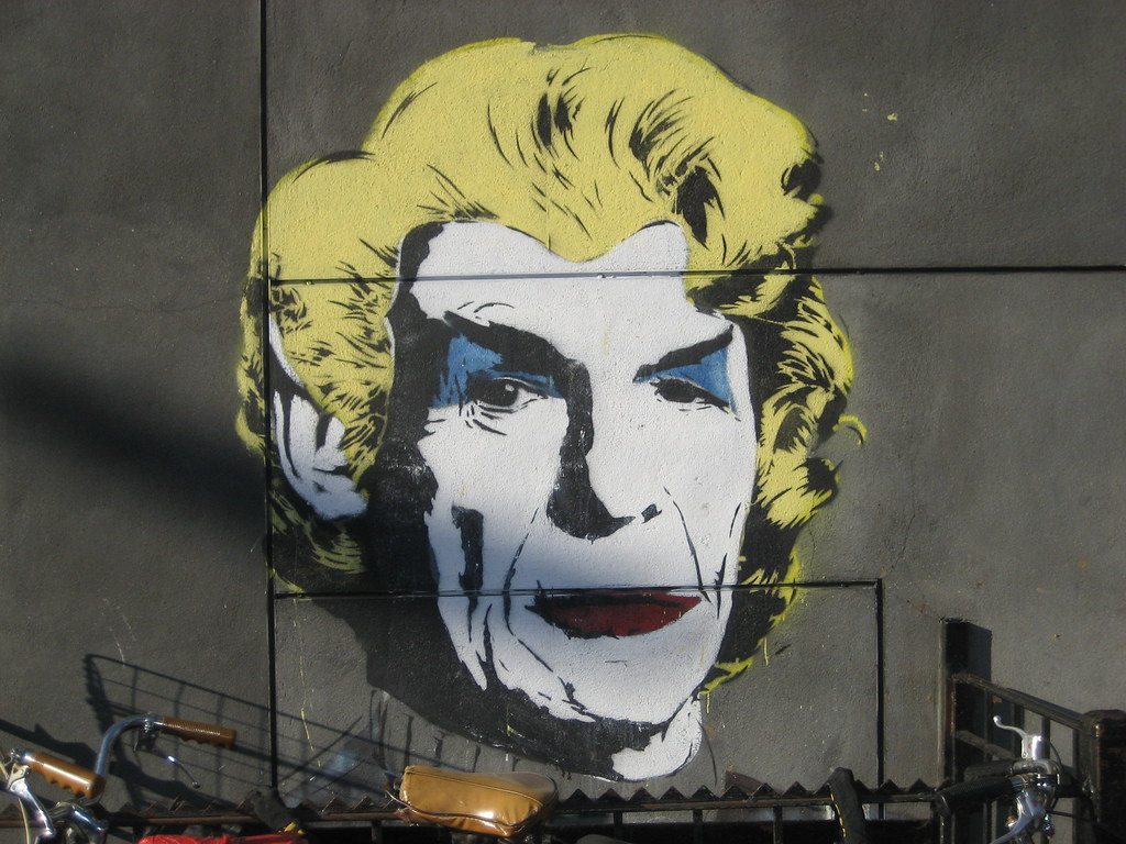 Leonard nimoy mural by mr brainwash flickr photo sharing for Mural mr brainwash