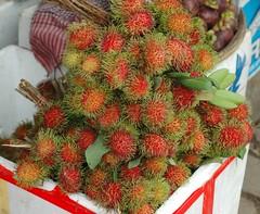 strawberries(0.0), plant(0.0), durian(0.0), rambutan(1.0), produce(1.0), fruit(1.0), food(1.0),