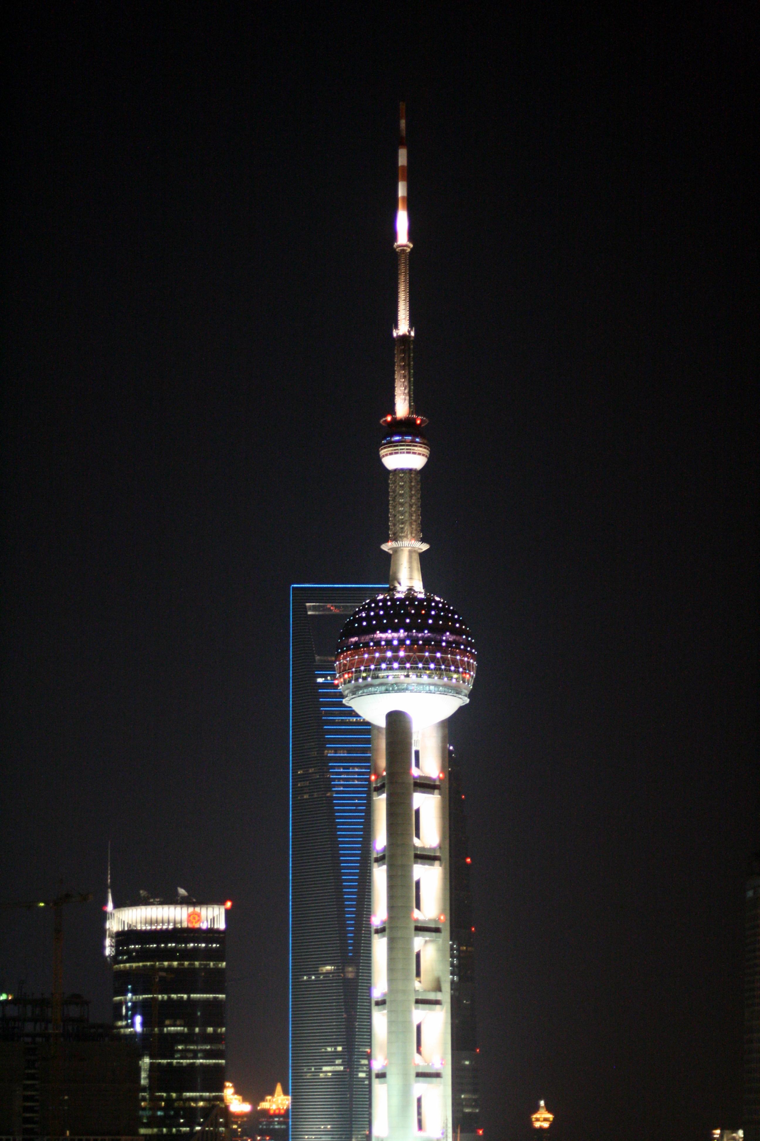50 Wonderful Views of The Oriental Pearl TV Tower in