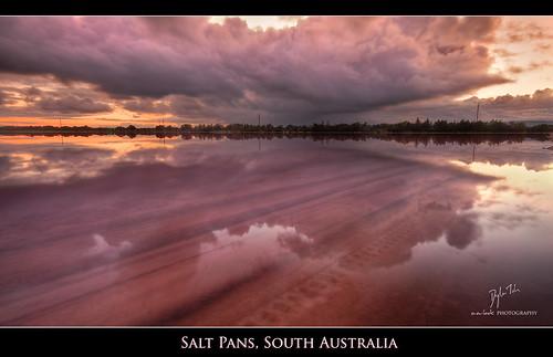 sky lake reflection sunrise dawn south bolivar tracks australia explore adelaide hdr saltpan photomatix explored exposureblend