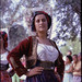 Folk Dancer at the Achilleion Palace - Corfu 1967 by Skink74