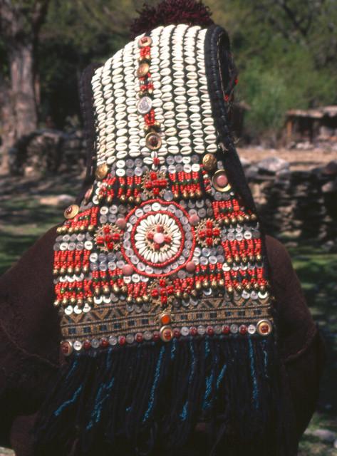 Traditional Handmade Kalash Woman/'s Head Dress Cap