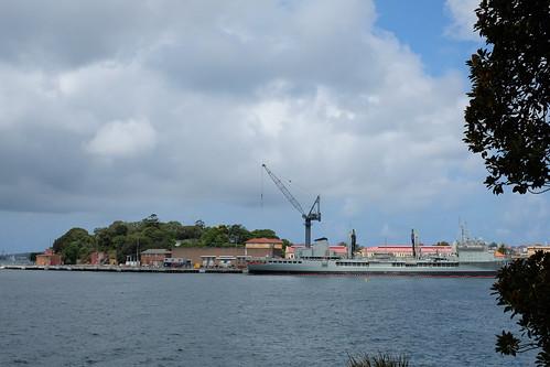 naval port