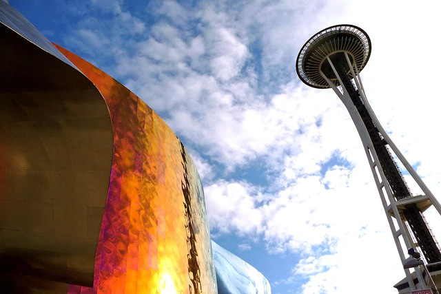Seattle Space Needle - Flickr image by bradfordcoy