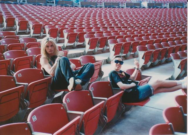 Sebastian Bach & brother Zac @ Shoreline Ampitheater 1989