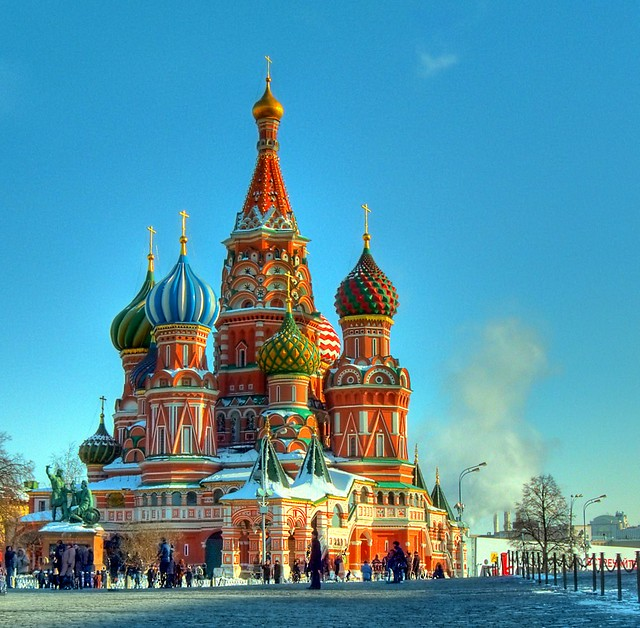 St basil 39 s cathedral flickr photo sharing - Office du tourisme moscou ...