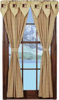 Piper Classics | Country Style Curtains | Panel Curtains and Drapes