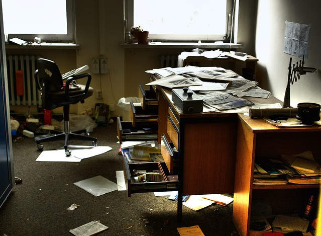 Abandoned office flickr photo sharing - Office photo ...