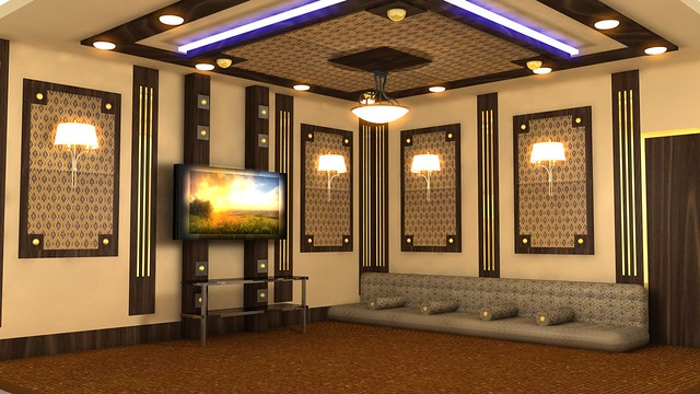 Arabic Living Room Designed By Dar Design Decoration Co For Style Interior