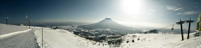 Photo:Hirafu to Mount Yōtei By:dahuey