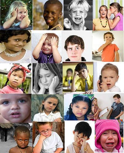 Inspire a Child: Faces: Shapes, Sizes and Colours, All can ...