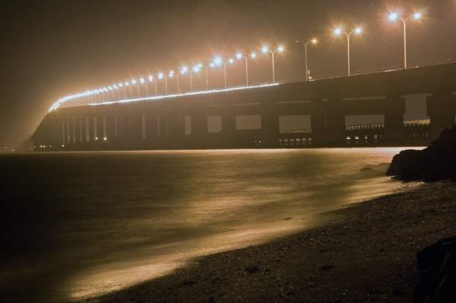 San Mateo Bridge Nightshot