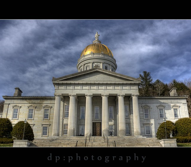 Vermont State Capitol at Montpelier