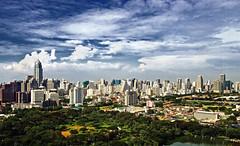 Bangkok skyline @ 27th floor