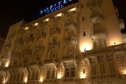 Sofitel hotel, Cecil Hotel, Alexandria - photo from flickr user: sonicscape2