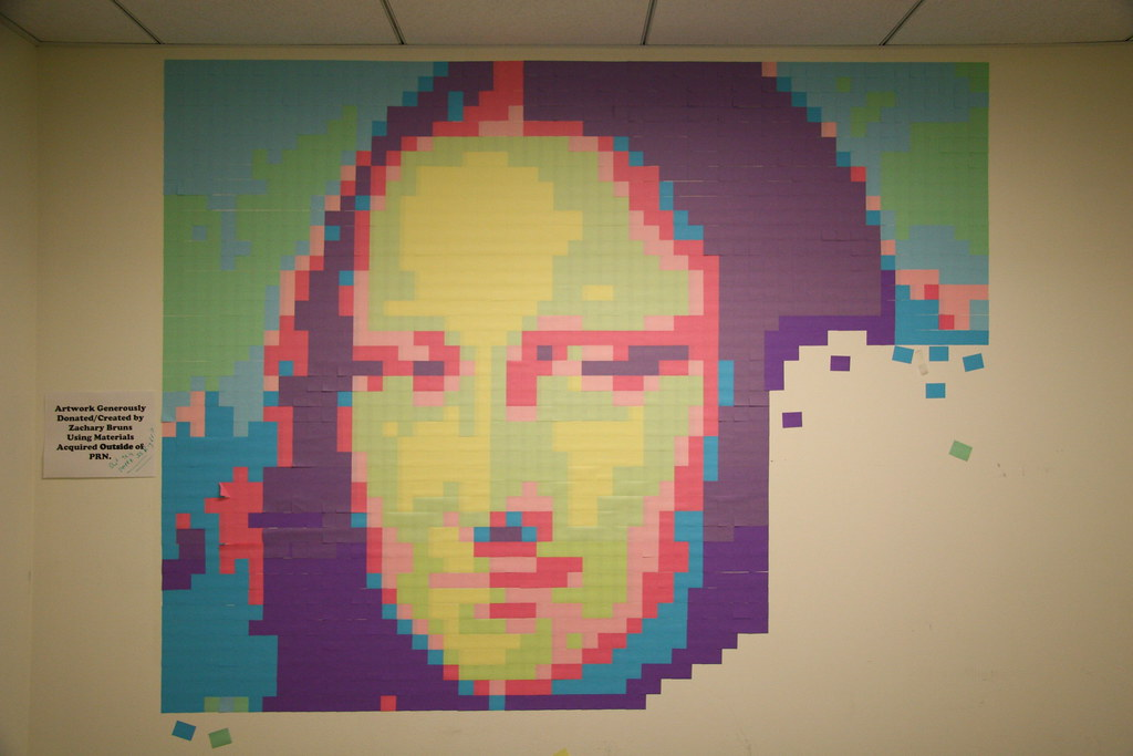 Post-it Note Mona Lisa Smiles
