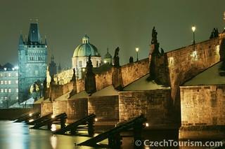 Puente Charles, en Praga.