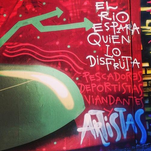 Río Guadalquivir #sevillagraffiti