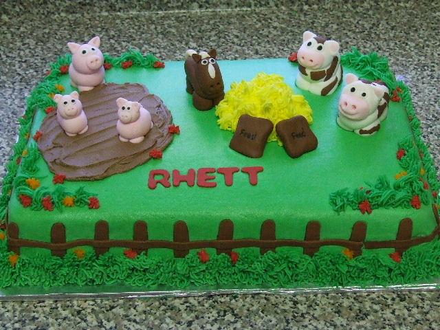 Farm Animal Birthday Cake Flickr Photo Sharing