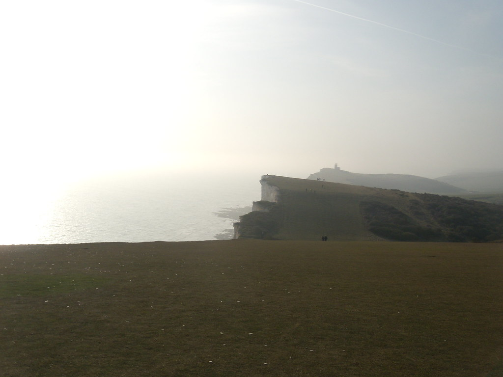 Looking back to Bel Tout Seaford to Eastbourne