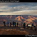 Photographers waiting for sunset, Grand Canyon