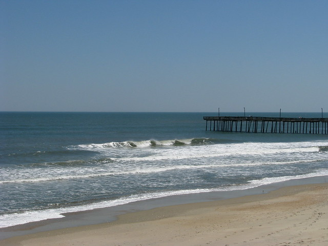 Surfing outer banks fishing pier flickr photo sharing for Outer banks surf fishing