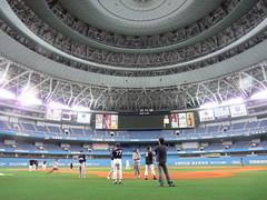 Midnight amateur baseball in Osaka-Dome 2009
