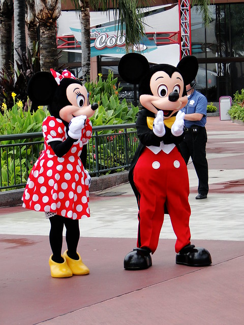 minnie and mickey mouse walt disney world fl a photo. Black Bedroom Furniture Sets. Home Design Ideas
