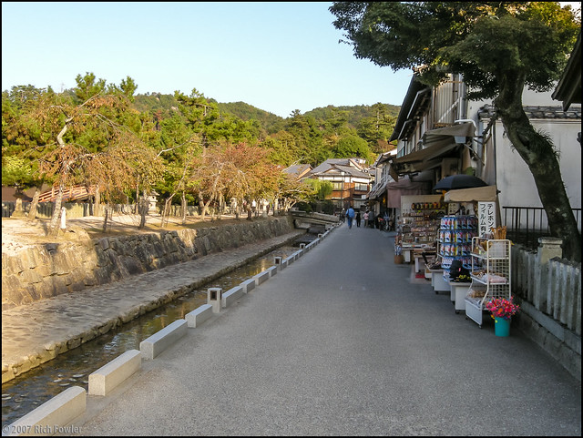 Backstreets of Miyajima