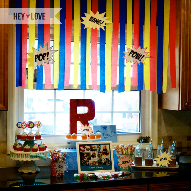 Real Parties Superhero Birthday Party Ivillage Party