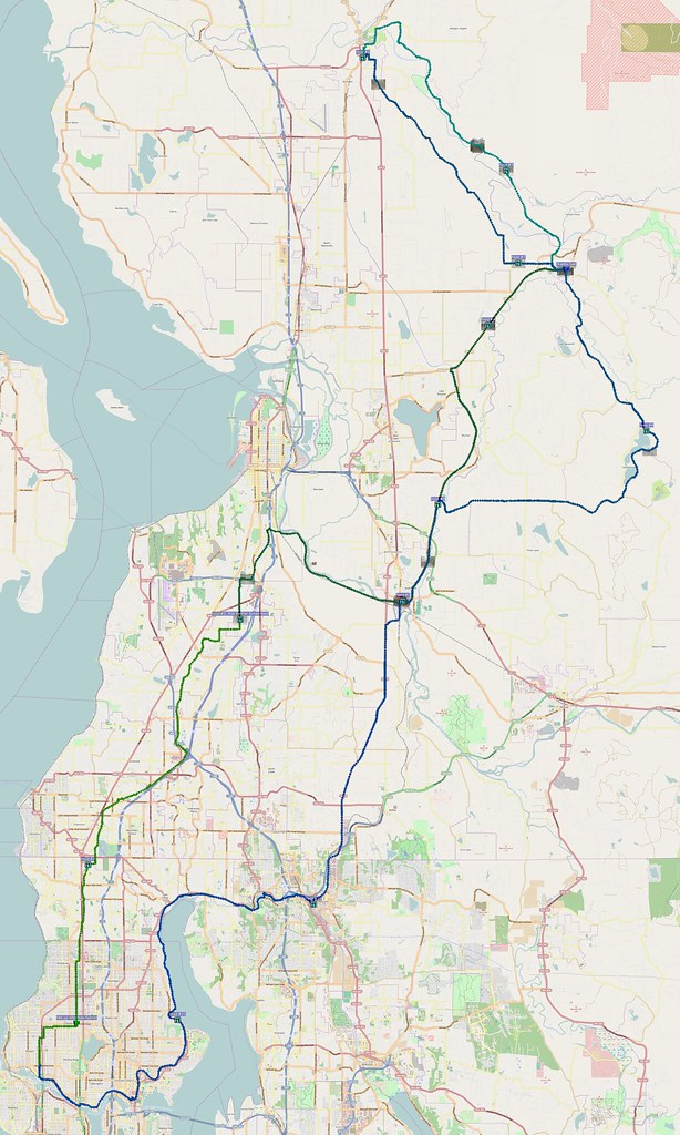 Map: 131 miles