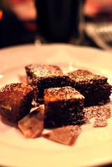 Day 045 / chocolate brownie for Valentine's Day @Belgo