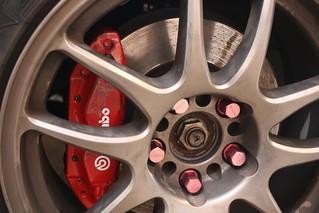 Honda Integra DC5R Brembo brakes w/work wheels