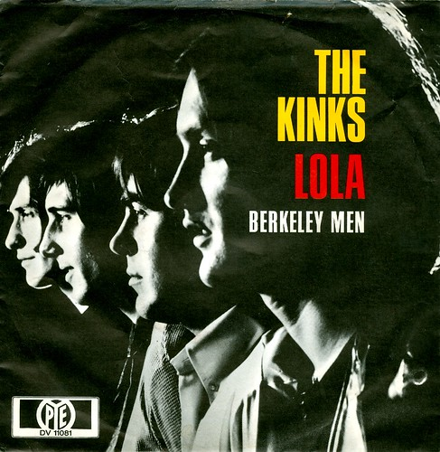 1969 - 43 - Kinks, The - Lola - first cover - D