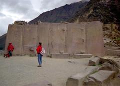 Sun, 14/12/1997 - 00:00 - 6枚岩 Ollantaytambo - オリャンタイタンボ遺跡