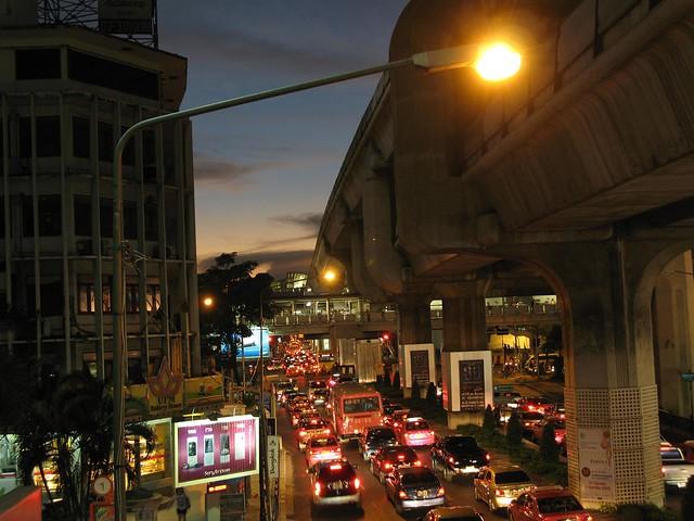 traffic building