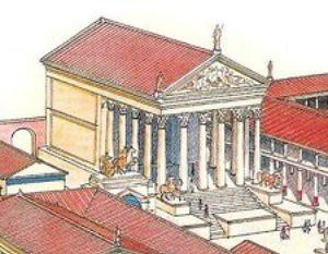 Pompeii Temple of Jupiter reconstruction