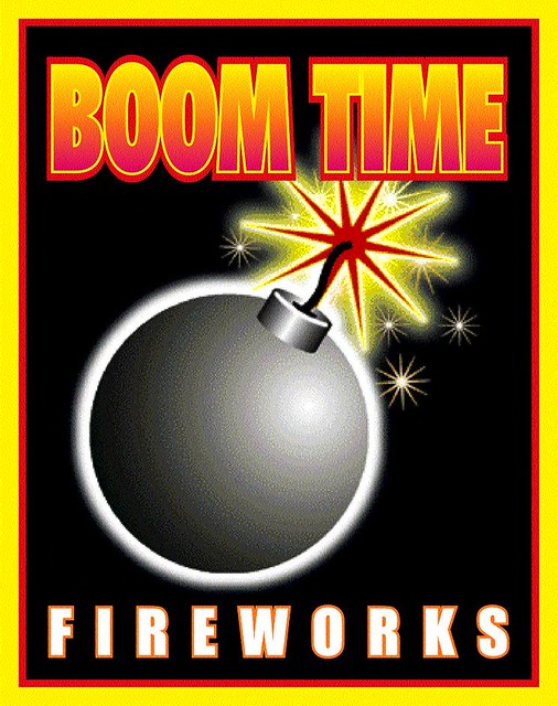 Boom Time Fireworks Logo